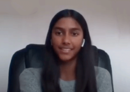 Support Mihika in the Coin Up Challenge