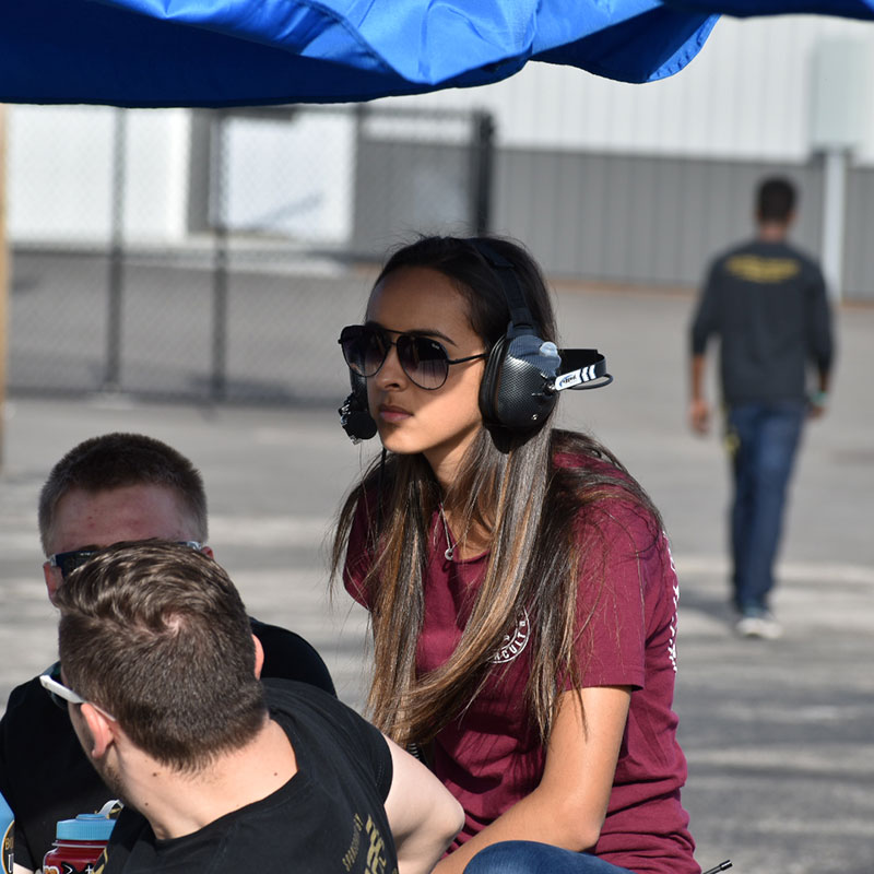lauren at the track